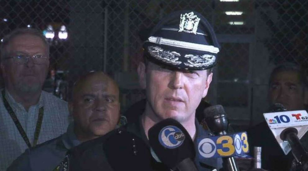 2 men wanted in ambush attack on New Jersey police